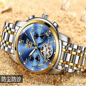 Европейская и американская мода High-Tight Nary / Nary Top-продажа Продукт Мода Бизнес Часы Мультяной Многофункциональный Турбийон Пустота