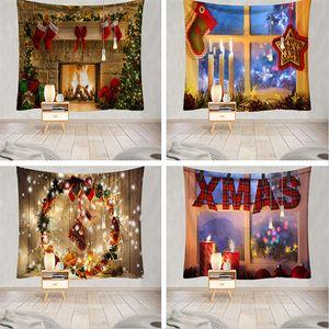 2020 Yeni Noel asılı bez Noel Dekorasyon Goblen Yatak shu Dişi arka plan bez Noel goblen T3I51413