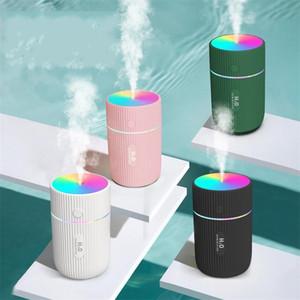 USB-Luftreiniger Stille Ultraschall Nano-Spray-Pferderaum-Lampe Wasserversorgung Instrument Fahrzeug Haushaltsfeuchter Zerstäuber LLA27