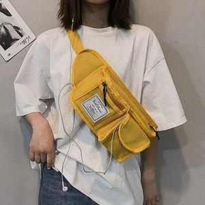 New Fanny Pack Unisex Waist Bag Chest Packs Leisure Banana Bags Hip Hop Package Street Sport Fashion Waist Pack Crossbody Bag