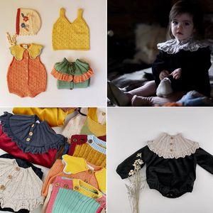 Enkelibb kalinka bambino ragazza ragazza natale festival di un pezzo di velluto vintage bambino manica lunga pagliaccetto bambino ragazza vestiti inverno pagliaccetto y1219