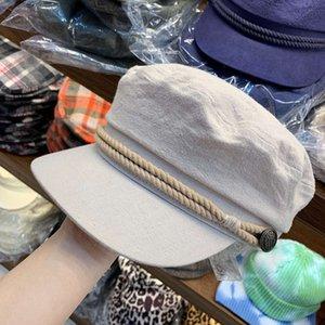 JMX   literary temperament octagonal hat for women in autumn and winter