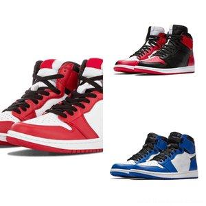 New Gym Red Jumpman Designer Hiper Preto Toe sapato Chicago OG Homens Suede Basketball 23 1S Crianças Red Kanye West Kanye West Shoes Last Shot jumpm