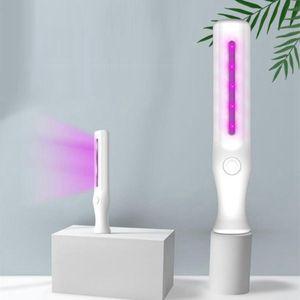 Professional UV Light Mini Sanitizer Travel Handheld Ultraviolet Disinfection Lamp Portable Hotel Household Car Pet Sterilizer Lights aLLA60