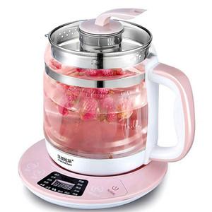Kettles elettrici 1.8L rosa multifunzione rosa Kettle Automatic Glass Health Teapot Pot Pot Pot Bottiglia per acqua con filtro