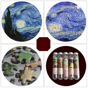 jigsaw puzzles pieces wooden Assembling picture Landscape puzzles toys for adults children kids games educational Toys