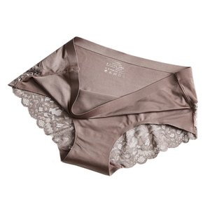 Women Lace Seamless Panties Underwear Breathable Comfortable Solid Thongs Lingerie Tangas Female Panty ]