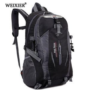 Weixier Softback Fashion Handsome Uomo per studenti impermeabile Nylon Mochila Escolare Travel Zaino da viaggio