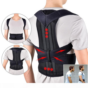 2020 Back Waist Posture Corrector Adjustable Adult Correction Belt Waist Trainer Shoulder Lumbar Brace Spine Support Belt Vest