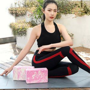 Начинающий Йога Aids 369 Стандартный коэффициент Yoga Кирпич новый продукт окружающей среды EVA Материал Камуфляж Йога Кирпич