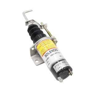Cnspeed carburant, ARRETER Electrovanne 1502 12v Arrêt carburant Shut Off Solenold Lister Petter LPW LPWS Lpwt Engine