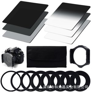 New Full Set ND Filter Neutral Density ND Filter ND2 ND4 ND8 Whit Holder Suit for Slow Shutter