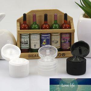 Sedorate 20 pcs / Lot 10ML PET bouteille pour cosmétiques Cover parfum flip ouvert Rechargeables