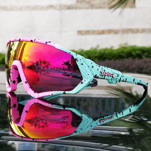Óculos incomuns ciclismo legal motocicleta polarizada tr90 ciclismo esportes bicicleta óculos de sol kapvoe óculos óculos mtb homens / mulheres dijur