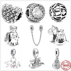2020 New Infinity Love Mother Angel Mom Dangle Charm Bead fit Original Pandora charms silver 925 Bracelet Women Jewelry Berloque