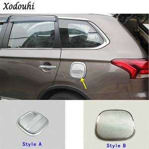 For Mitsubishi Outlander 2016 2017 2018 Top quality car Styling Gas Fuel Oil tank Cover Cap stick ABS lamp frame trim 1pcs LoBX#