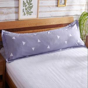 Casal alta Quanlity Doce Bed Pillowcase Comfy Início Imprimir longo Body Double fronha Protector Cotton fronha fronha 120x48cm