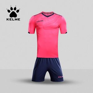 Kelme Çocuk Futbol Forması Futbol Üniforma Yaz Özelleştirilmiş Suit Shark Eğitim Ekibi Üniforma Spor Çocuk KCC160027 Q0115