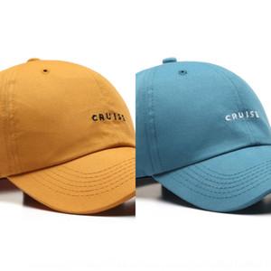 Dyro curvado bonés de beisebol sólidos strapbacks ajustáveis para adulto mens wovens moda-designer esportes chapéus em branco algodão sol viseira