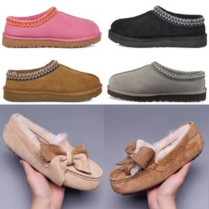 2021 Classic POM Casual Shoes Short II Bailey Bow Australia Slippers Womens Suede Women Boot Winter Boots Snow Fur Furry Australian Bo H6sz #