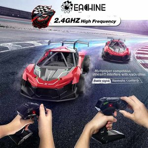 Eachine EC06 1:14 2.4GHZ 4CH High Frequency Alloy Remote Control High-speed Moter RC Racing Car 201104