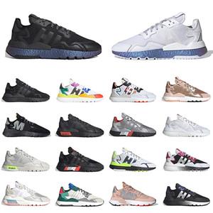 sapatos adidas boost 3m nite jogger joggers tênis de corrida masculino feminino triplo branco todo preto reflexivo xeno rosa ouro caminhada corrida tênis tênis masculino