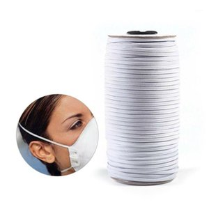 200M 3mm High Tenacity Round Elastic Thin Band Cord Craft Thread Stretch String Sewing Rope Mask Strings1