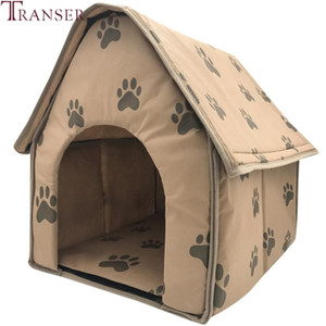 Transer Foldable Mat Pet Dog House Print Dog Beds For Small Medium Dogs House Pet Beds for Cat Products 90611