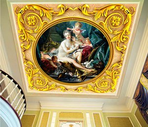 Custom Retail Greek Mythology Venus Love God Oil Painting Zenith Mural Cute Angel A Mural
