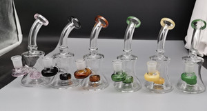 Beaker Bong Mini Oil Rigs Water Pipes Smoking Accessories Glass Water Bongs Hookahs Shisha With 14mm Banger FY2336