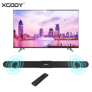 XGOODY HOME THÉÂTRE SOUND SOUND TV S-XS01 40W Bluetooth 4.0 Bar Sound Bar Système de haut-parleur sans fil Subwoofer Coax Opt USB Télécommande1