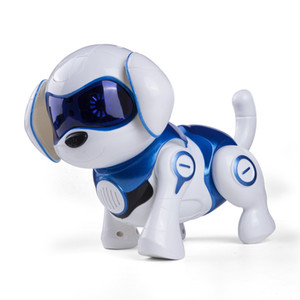 2020 hot sale Puppy Dog Remote Control Robot Dog Electronic Pets Intelligent Dancing Walk Smart Dog Robot New Year Christmas Gift