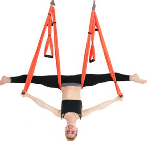 Aerial Yoga Hammock Home Gym Workout Air Yoga 6 Handles with Extend Stap Excellent Quality