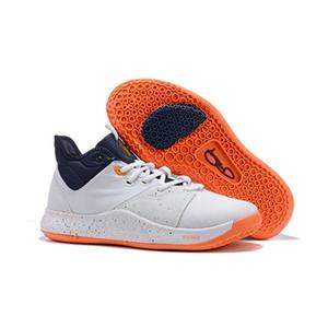 Ucuz ABD Tasarımcı PG3 3'ler Spor Spor ayakkabılar Boyutu 40-46 için 2019 Üst Kalite Paul George PG 3 X EP Palmdale PlayStation Erkek Spor Ayakkabıları