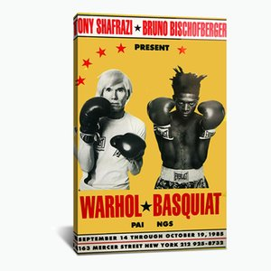 Canvas Painting Wall Andy Warhol Basquiat Posters and Prints Wall Pictures for Living Room Decoration Home Decor