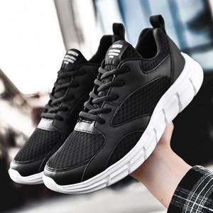 Zapatos moda casual para hombre zapatos de los hombres de malla transpirable zapatillas de deporte de los hombres Zapatillas Hombre Running Tenis Masculino 39 48 zapatos de deporte Skechers h0X5 #