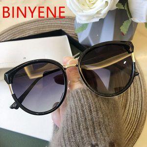 여성 고양이 눈 차양 한국 스타일 편광 태양 안경 여성 2020 귀여운 섹시한 숙녀 안경 UV400를 들어 오버 사이즈 선글라스
