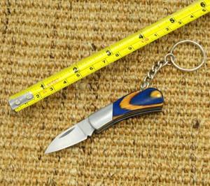 2021 HW18 Creative Key Circle Fans You Outdoor Folding Knife Open Express Box Fruit Knife Portable Folding Knife