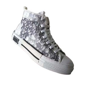 Fashion Best quality real leather Handmade Multicolor Gradient Technical Fabric sneakers men women famous shoes 07 DR190 05