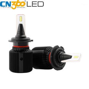 CN360 2pcs H7 led Headlight H7 Auto Light Bulb Mini CSP Chip Car Headlamp 40W 8000LM 6500K White12V 24V Fanless Waterproof1