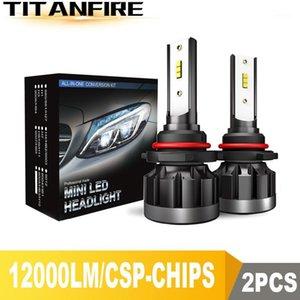 TF30 New 12000LM 9006 H4 H11 H7 LED Headlights Headlamps Bulbs CSP 72W Auto Car Lights H9 H8 9005 Led Headlight Bulb 12V 24V1