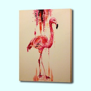Flamingo Tattoo Poster Print Wall Art Canvas Painting Picture Living Room Bedroom Dining Room Hanging Painting