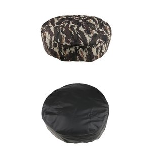 15 inch Camo + Black Car Truck Rear Spare Tire Tyre Cover Wheel Cover Wheelcover Universal fit Tire 28\'\'-29\'\'