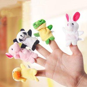 Incluso mini bebé peluche dedo dedo títeres que hablan apoyos 10 Animal Group Plus Animales de peluche Juguetes Regalos congelados