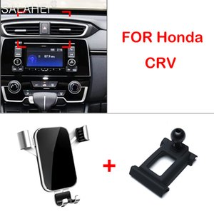 Car Mobile Adjustable Air Vent Mount For Honda CRV CR-V 2019 GPS Cell Phone Holder Stand Accessories