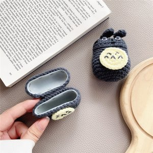 Fashion New Product AirPods Case Knitted Plush Cute Cat Suitable for Airpods 1 2  Pro 3 Bluetooth Headset Protection Case-