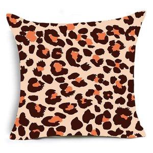 Einseitige Drucktier Leopard Dekorative Kissen Fall Super Weiche Samt Schwarzweiß-Zebra-Muster Kissenbezug Sofa DWF4875