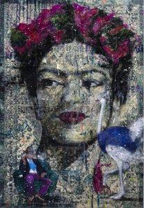 Angelo Accardi Olhe aqui Home Decoração HandPainted HD Impressão Óleo Pintura em Canvas Wall Art Canvas Pictures 201223