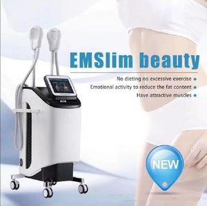 2020 أحدث نحت الجسم تقنية EMSlim EMSCULPT حرق الدهون آلة TeslaSculpt عالية الكثافة الجهاز الكهرومغناطيسي المركزة