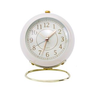 Creative Quartz Clock Simple Student Cute Electronic Small Alarm Clocks Home Decoration
